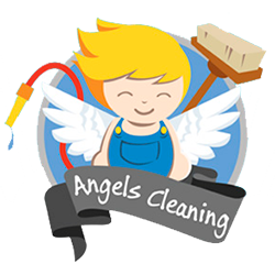 Angels cleaning